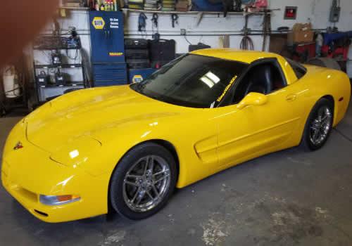 corvettes auto tech garage st petersburg fl