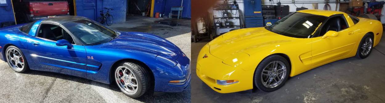 corvette specialists auto tech garage st. petersburg fl